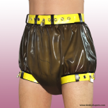 Culotte en latex verrouillable